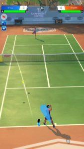 対戦プロテニス-ロブ