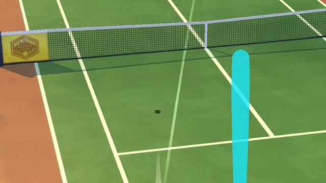 対戦プロテニス-ストローク