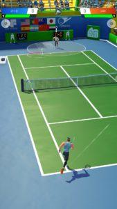 テニスクラッシュ